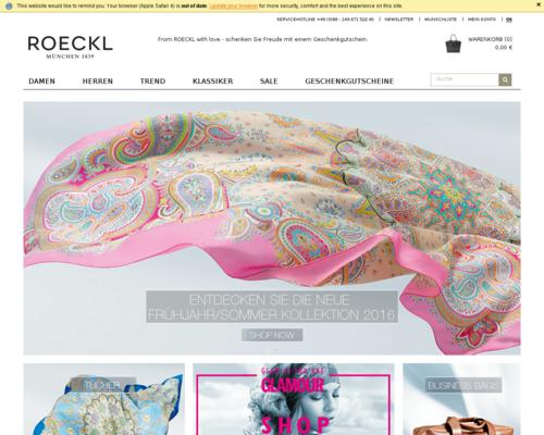 Roeckl Screenshot