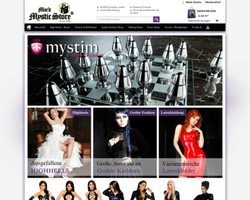 Mystic Store Screenshot