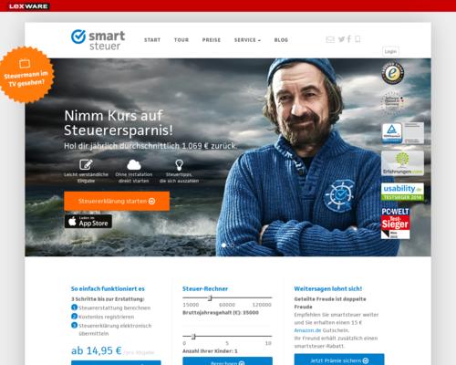 Smartsteuer Screenshot