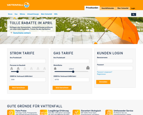 Vattenfall Screenshot