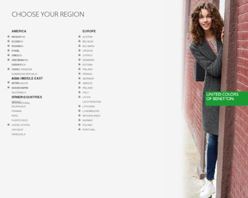 United Colors of Benetton Screenshot