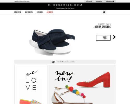 shoescribe Screenshot