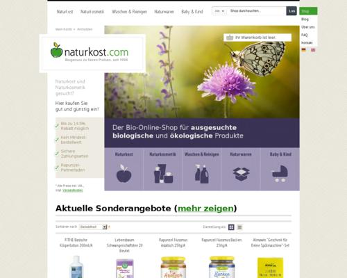 Naturkost Screenshot