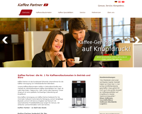 Kaffee Partner Screenshot
