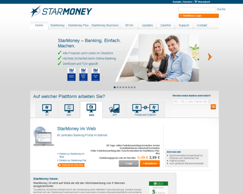 StarMoney Screenshot