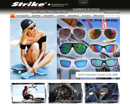 Strike.eu Screenshot