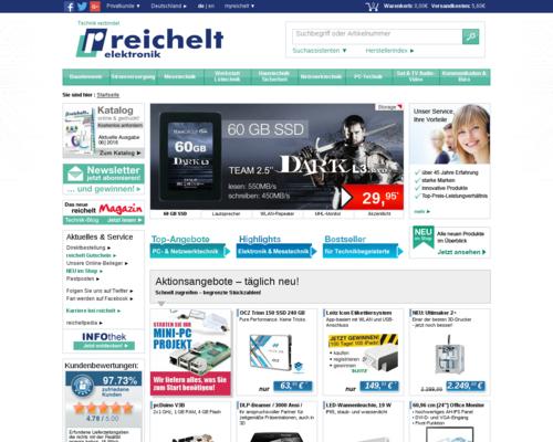 reichelt Screenshot
