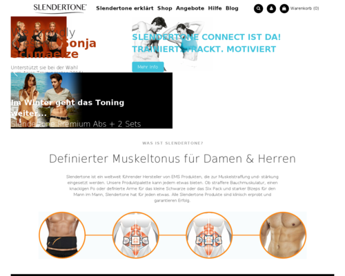 Slendertone Screenshot