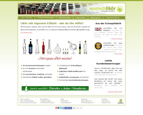 wunschlikoer.de Screenshot