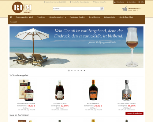 RUM Company Screenshot