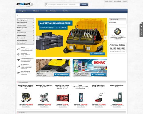 myToolStore Screenshot