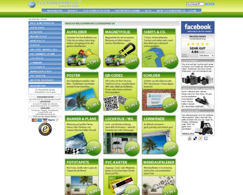 clickandprint Screenshot