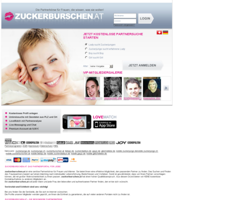 Zuckerburschen Screenshot