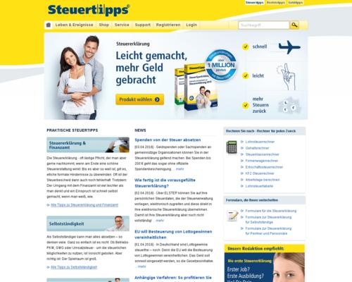 Steuertipps Screenshot