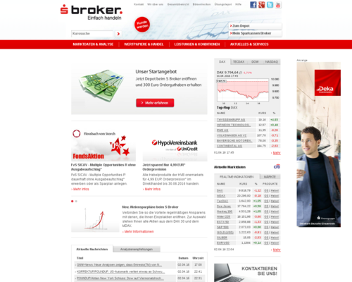 S Broker Screenshot