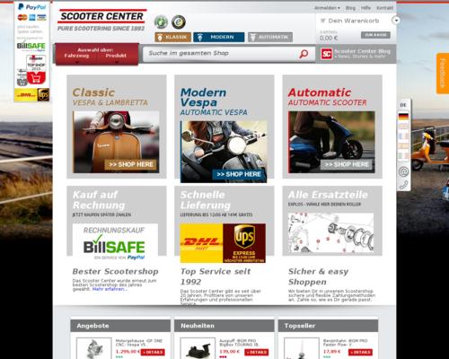 Scooter Center Screenshot