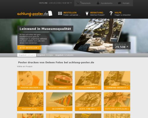 Achtung Poster Screenshot
