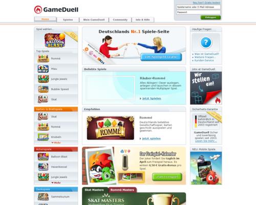 GameDuell Screenshot