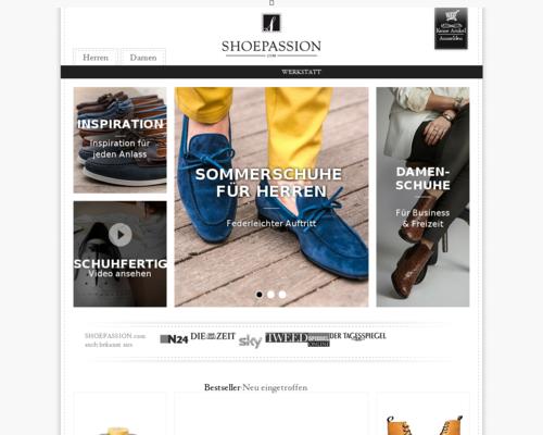 SHOEPASSION Screenshot