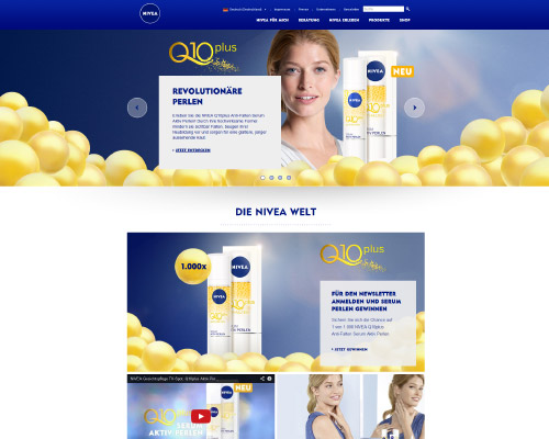 NIVEA Screenshot