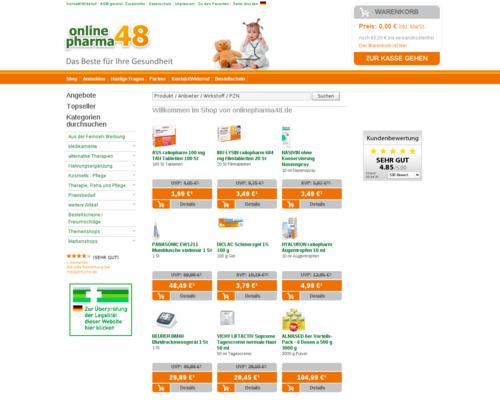 onlinepharma48 Screenshot