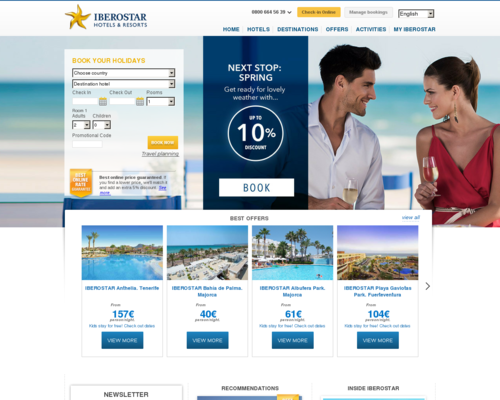 Iberostar Screenshot