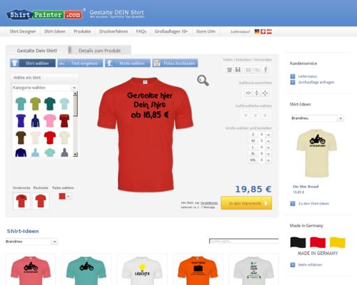 Shirtpainter Screenshot