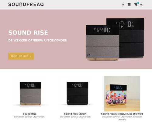Soundfreaq Screenshot