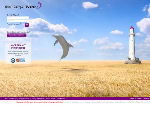vente-privee.com Screenshot