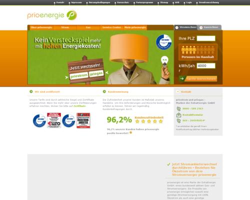PrioEnergie Screenshot
